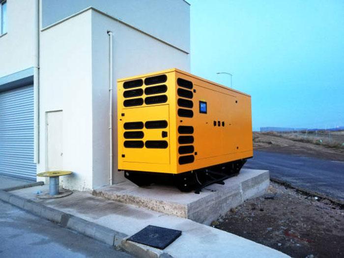 дизельный генератор для строительства