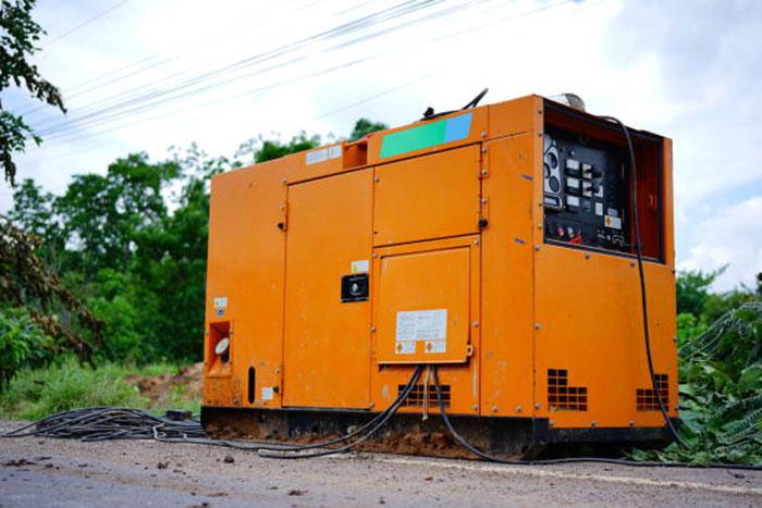 трехфазный дизельный генератор