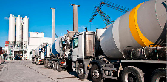 фото привоз бетона