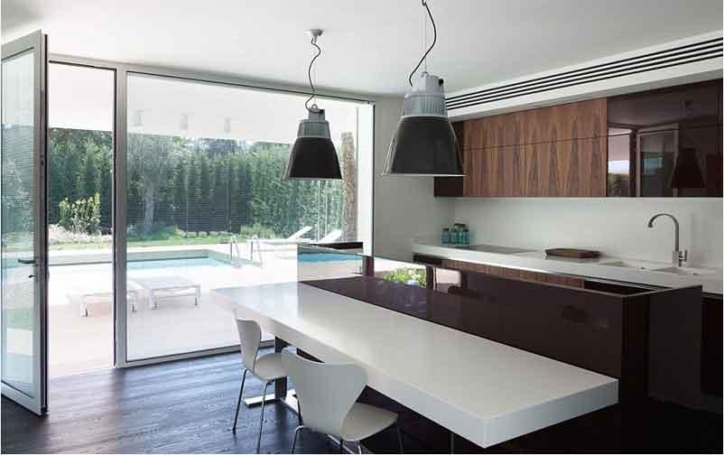 фото кухня в стиле модерн