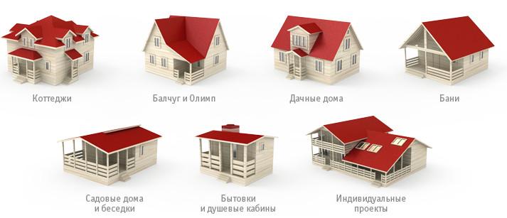 фото проектов деревянных домов