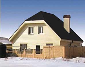 фото дом облицовочный фасадными панелями