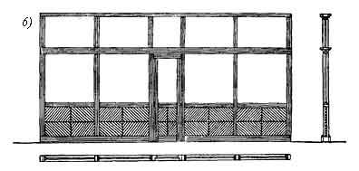 Деревянные сборно-щитовые и столярные перегородки